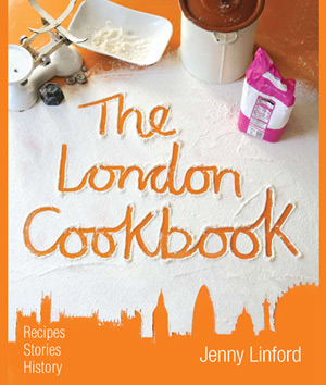Cover of 'The London Cookbook' by Barnet resident, Jenny Linford