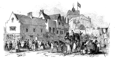 The Market and Fair about 1850